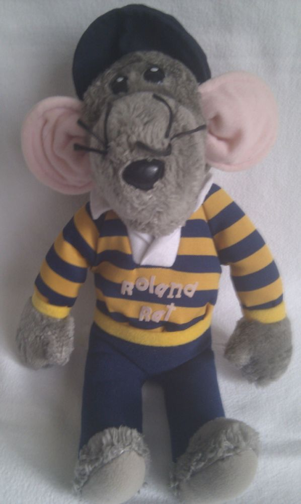 Vintage Rare 1980s Big Roland Rat Superstar Collectable Plush Toy